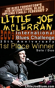 Little Joe McLerran wins in Memphis at the International Blues Challenge - Memphis