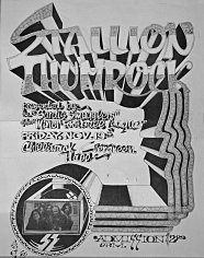 CLICK FOR LARGE VIEW: Stallion Thumrock poster from 1972